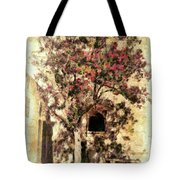 The Tree In The Corner Of The Courtyard Tote Bag