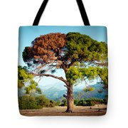 The Tree Of Life And Dead Tote Bag