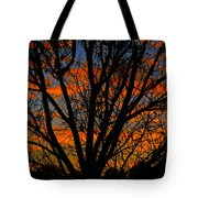 The Tree Of Shapes Tote Bag