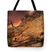 The Tree Of Zion Tote Bag