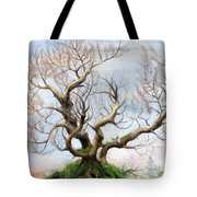 The Tree On The Top Of The Hill  Tote Bag