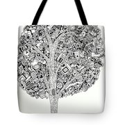The Tree That Never Fails Tote Bag