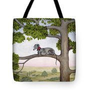The Tree Whippet Tote Bag
