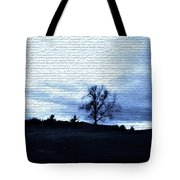 The Trees In Winter Tote Bag