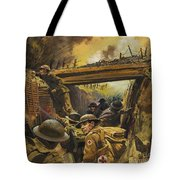 The Trenches Tote Bag by Andrew Howat