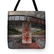 The Trestle With The Pestle Tote Bag