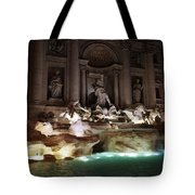 The Trevi Fountain In Rome Tote Bag