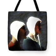 The Trial Of The Heretics Tote Bag