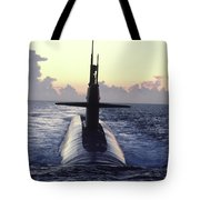 The Trident Nuclear Submarine, Ohio Tote Bag