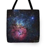 The Trifid Nebula Tote Bag
