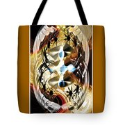 The Trinity Of Time Tote Bag