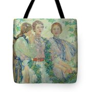The Trio  Tote Bag