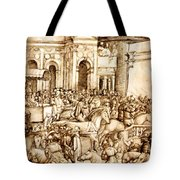 The Triumph And Vespasian De Titus 1500 Tote Bag