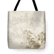 The Triumph Of Virtue And Divine Wisdom Tote Bag