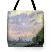 The Trocadero Tote Bag by Albert Charles Lebourg
