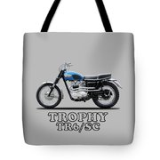 The Trophy Tr6 Sc Motorcycle Tote Bag