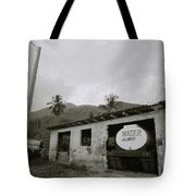 The Truck Stops Here Tote Bag