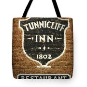 The Tunnicliff Inn - Cooperstown Tote Bag