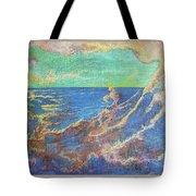 The Turbulent Sea Tote Bag