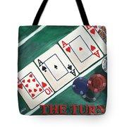 The Turn Tote Bag by Debbie DeWitt