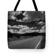 The Turquoise Trail Tote Bag