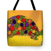 The Turtle In Lighter Colors Tote Bag