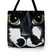 The Tuxedo Cat Tote Bag