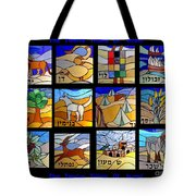 The Twelve Tribs Of Isral Tote Bag