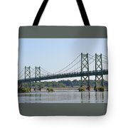 The Twin Bridges Tote Bag