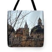 The Twin Churches Tote Bag