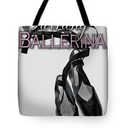 The Twirling Ballerina Cover Art Tote Bag