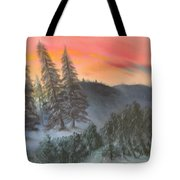 The Twisted Forest Tote Bag