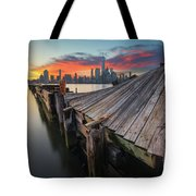 The Twisted Pier Tote Bag