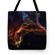 The Twisted Shockwaves Of An Exploded Star Tote Bag