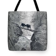 The Two Goats Tote Bag
