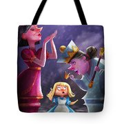 The Two Queens, Nursery Art Tote Bag