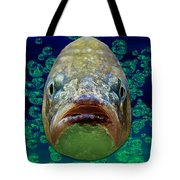 The Ugliest Fish Ever Tote Bag