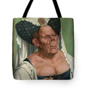 The Ugly Duchess, By Quentin Matsys Tote Bag