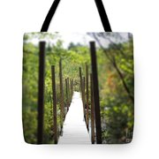 The Uncertain Path Tote Bag