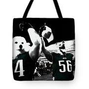 The Under Dogs Philadelphia Eagles Tote Bag