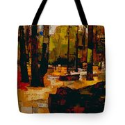 The Underground To Epping Forest - London Underground, London Metro - Retro Travel Poster Tote Bag