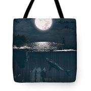 The Underwater Castle Tote Bag