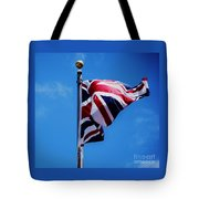 The Flag Of Great Britain Tote Bag