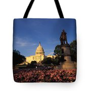 The United States Capitol, Washington Tote Bag