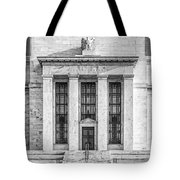 The United States Federal Reserve Bw Tote Bag