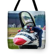 The United States Thunderbirds Tote Bag