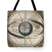The Universe Of Ptolemy Harmonia Tote Bag by Science Source