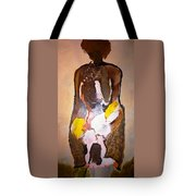 The Unknown Woman Tote Bag