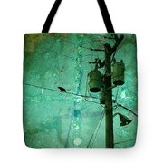 The Urban Crow Tote Bag