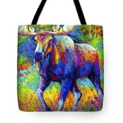 The Urge To Merge - Bull Moose Tote Bag